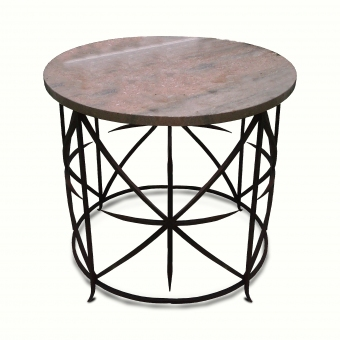 10090-irst-ta-side-table-stone-top-iron-legs-adg-lighting-collection