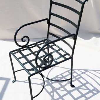 Exterior-Chair-with-Scroll-Arm-ADG-Lighting-Collection