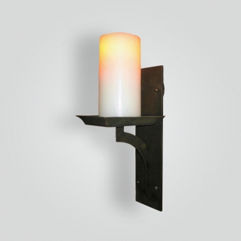 5300-led-br-br-s-ba Oil Rubbed Bronze Sconce - ADG Lighting Collection