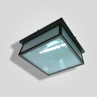 960-mb4-br-p-sh-brass-and-glass-square-lantern - ADG Lighting Collection