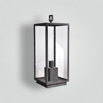 968-mb1-br-p-ba-brass-pilaster-lantern-transitional-light-fixture-contemporary-lantern - ADG Lighting Collection