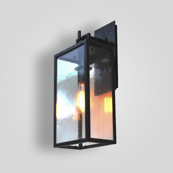 297 mb1-ir-w-ba Barstock Iron Lantern - ADG Lighting Collection