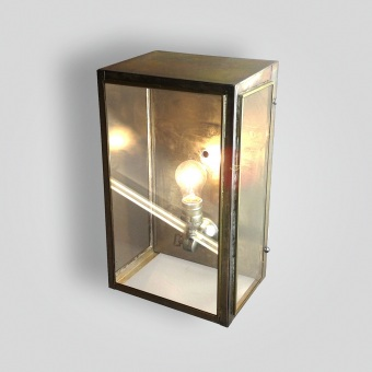 300-mb1-br-w-sh-zinc-finished-lantern-wallace - ADG Lighting Collection