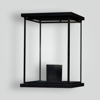 308 Box Glass Pilaster Lantern - ADG Lighting Collection