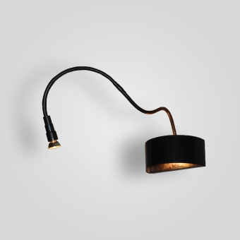 5291-mr16led-br-s-sh-goose-neck - ADG Lighting Collection