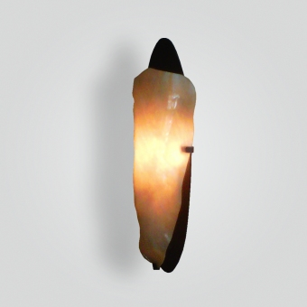 5306-led-brgl-s-gl-slumped-glass-wall-sconce - ADG Lighting Collection