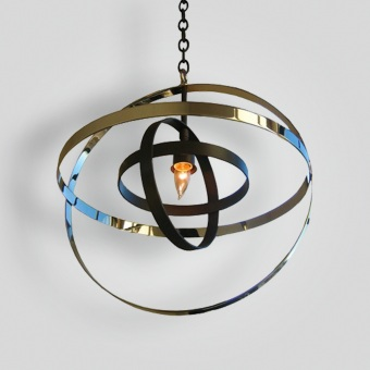 7080-mb1-br-h-ba-nickel-and-oil-rubbed-bronze-light-transitional-pendant-contemporary-light-fixture - ADG Lighting Collection