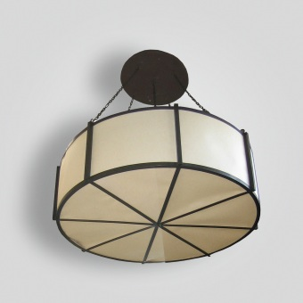 7170-ind-br-h-ba Drum Pendant - ADG Lighting Collection