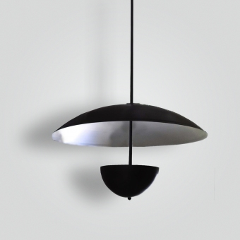 7190-mb2-al-h-sh-1950-style-chicago-pendant - ADG Lighting Collection