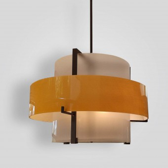 76101-mb4-ac-h-ba-Acrylic-Double-Drum-Pendant-LED-Fixture-ADG-Lighting-Collection