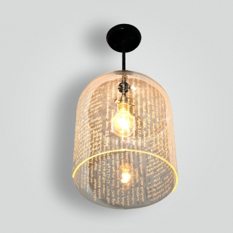 7789.5 Poetry Bell Jar - ADG Lighting Collection