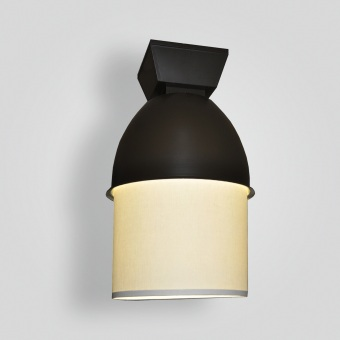 8011-ind-st-p-sh Bronze and Linen Transitional - ADG Lighting Collection