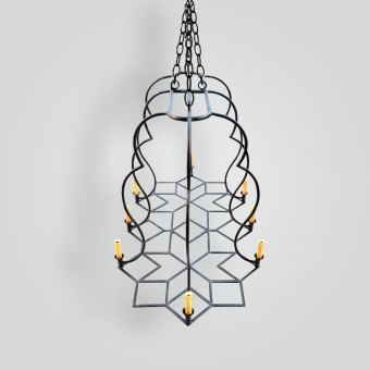 90545-cda Deutsch Dining Chandelier - ADG Lighting Collection