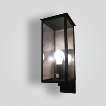 964-mb1-br-w-ba-transitional-lantern-contemporary-brass-lantern-oil-bronze-finish-wh-wall - ADG Lighting Collection