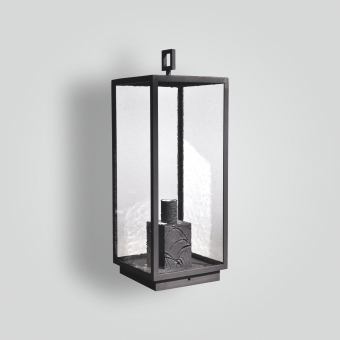 968-mb1-br-p-ba-brass-pilaster-lantern-transitional-light-fixture-contemporary-lantern - ADG Lighting Collection