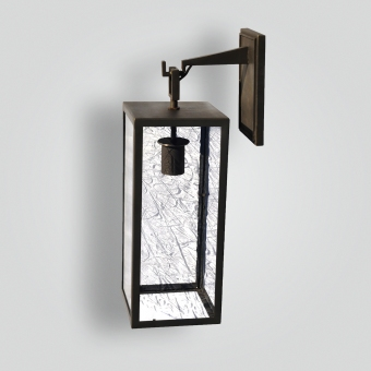 968-mb1-br-wba-transitional-lantern-contemporary-brass-lantern-oil-bronze-finish - ADG Lighting Collection