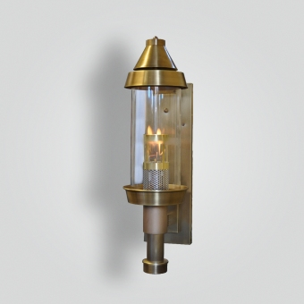 970-ga-br-w-sh-cylinder-gas-light-a1 - ADG Lighting Collection