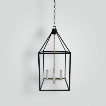 box-pendant-brass-trim-ADG-Lighting-Collection
