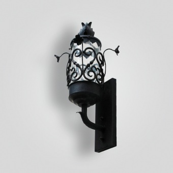 150-mb1-ir-w-ba-carnation-sconce-adg-lighting-collection