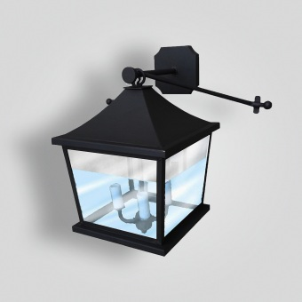 186-mb1-br-w-sh Holte Wall Lantern - ADG Lighting Collection
