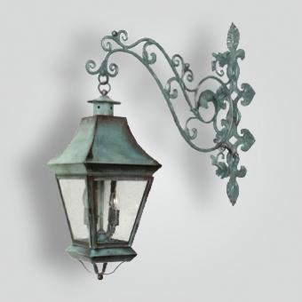 520-cb4-irbr-shba-iron-decorative-arm-with-brass-lantern-adg-lighting-collection