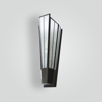 5205-55-mb1-br-w-sh-art-deco-wall-sconce - ADG Lighting Collection