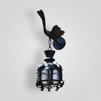 5214-cb2-ir-w-lantern-on-swan-arm-adg-lighting-collection