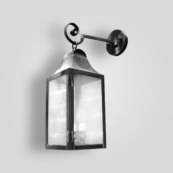 525b-cb2-br-w-sh-brass-lantern-on-arm-clear-glass-adg-lighting-collection