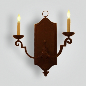 5279-cb2-br-ba-wall-sconce-large-back-plate-adg-lighting-w-cr-collection