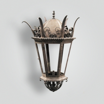 614-mb1-st-h-ba-spiked-lantnern-with-down-light-title-24-adg-lighting-collection