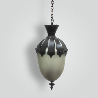 7015-mb1-br-h-sh-bell-jar-sandblasted-pyrex-glass-hanging-pendant-with-cast-ornament-1-adg-lighting-collection