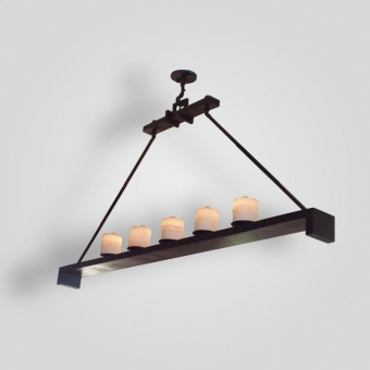 7091-led-br-h-ba-contemporary-led-chandelier - ADG Lighting Collection