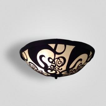 7262-led-br-h-sh-filigree-bowl-hanging-pendant-water-jet-cut-light-fixture - ADG Lighting Collection
