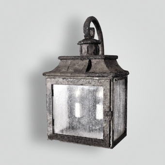 80496-cb2-ir-w-ba-rustic-iron-lantern-wall-light-old-world  - ADG Lighting Collection