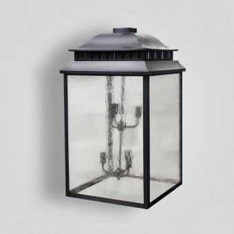 80499-cb8-br-w-sh-large-traditonal-hanging-lantern-with-tiered-lights - ADG Lighting Collection