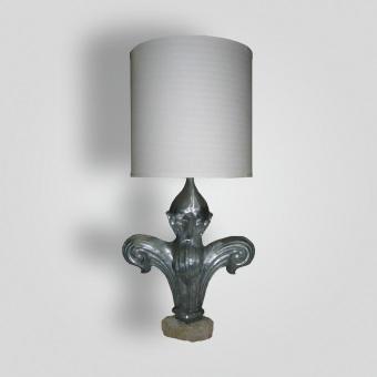 8070-mb1-tist-l-sh-fleur-lamp - ADG Lighting Collection