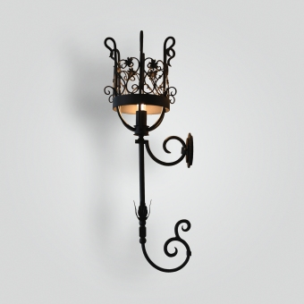 835 Dunham Wall Sconce Basket - ADG Lighting Collection