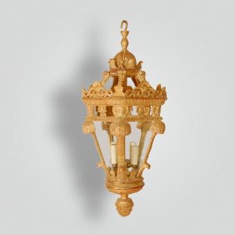 846-mb1-res-h-ca-reproduction-gargoyle-wood-lantern - ADG Lighting Collection
