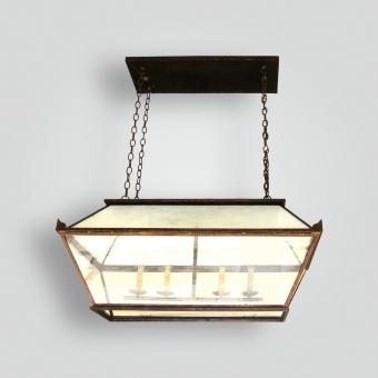 851-cb4-ir-h-sh Del Pendant - ADG Lighting Collection