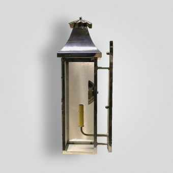 860-cb1-br-w-sh Bay Shores Lantern - ADG Lighting Collection