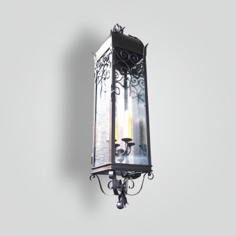 870-cb4-ir-w-ba-diagonal-mounted-wall-lantern  - ADG Lighting Collection