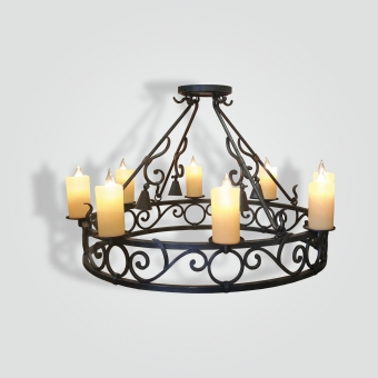 9040-56-Wrought-Iron-Dining-Chandelier