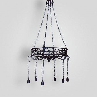 90540-mb6-ir-h-ba-spanish-chandelier - ADG Lighting Collection