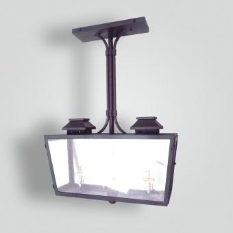 918-ga2-jc-h-sh-double-burner-gas-light-pendant-double-burner-pendant - ADG Lighting Collection