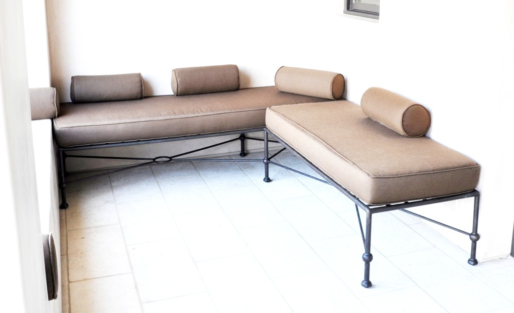 10003 1004 Low Back Sofa Series Modern Twist To Classic Iron Furniture 10 1 2010 072 Details By  – ADG Lighting