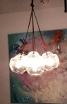 5 Light Pyrex Pendant