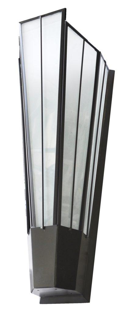 5205.55 Mb1 Br W Sh Art Deco Wall Sconce – ADG Lighting