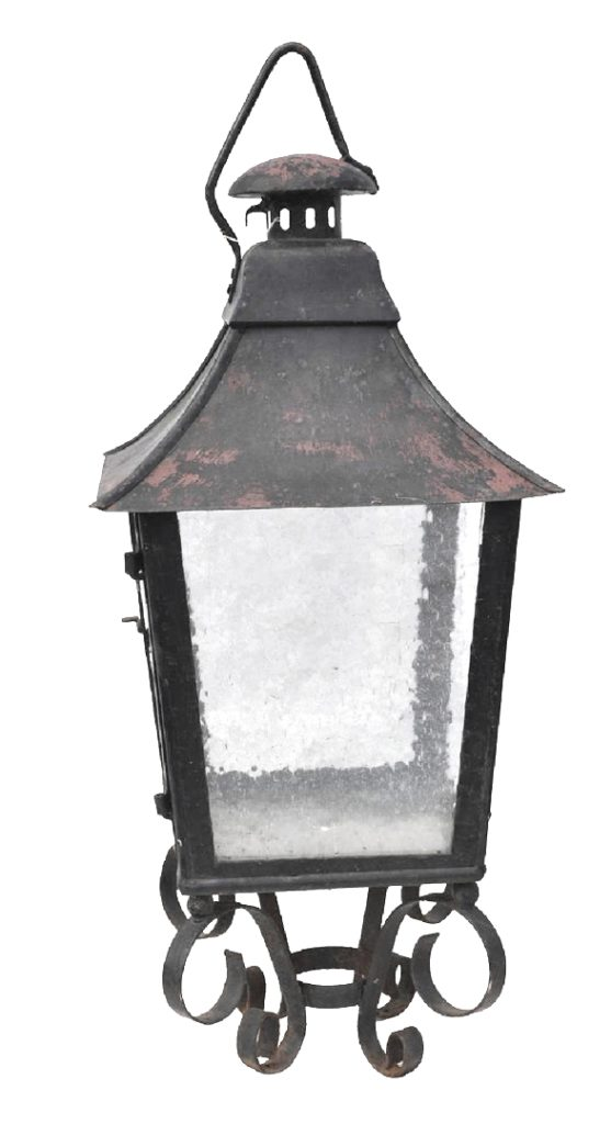 580 Mb1 Ir P Ba Large Pilaster Lantern ADG Lighting Early American Light