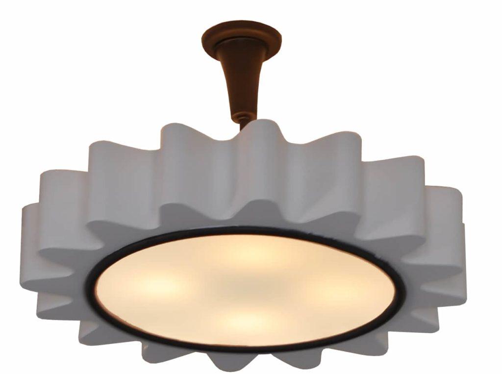 7195 LED St H Sh LED SPAGO Ceiling Burst Royere Style 1 ADG Lighting