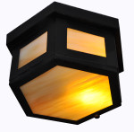 7260 Ceiling Light Hexagonal Lantern